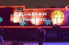(28/11/13) - Canadian Pacific Holiday Train passes through Oshawa.