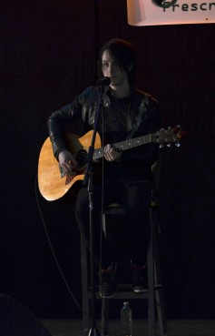(2/04/14) - Reid Henry at Prescription 2 Rock at Durham College.