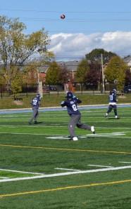 (29/10/2013) - Toronto Argonauts practice at St. Thomas Aquinas Catholic Secondary School.
