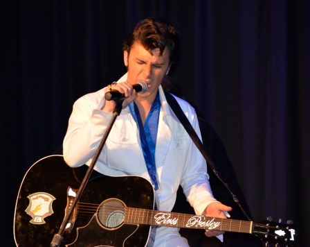 OSHAWA, Ont. (10/10/2014) - Fame and Fortune: Elvis Presley Tribute -Brycen Katolinsky.