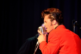 OSHAWA, Ont. (10/10/2014) - Fame and Fortune: Elvis Presley Tribute - Brycen Katolinsky.